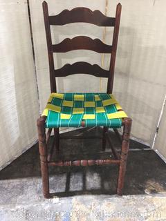 Ladder Back Chair (DIY)