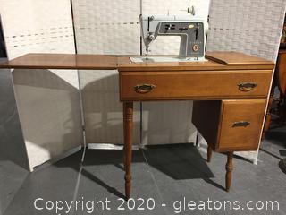 Vintage Sewing Machine (DIY) by Singer