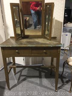 DIY Project - Vanity with Mirror