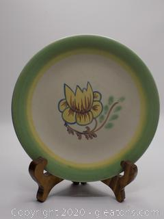 Hand Painted Stangl Pottery Plate