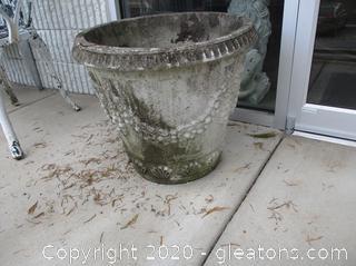 Large Concrete Urn (A)