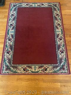 Accent Rug - Roxy Wine - Approx 4' x 6'