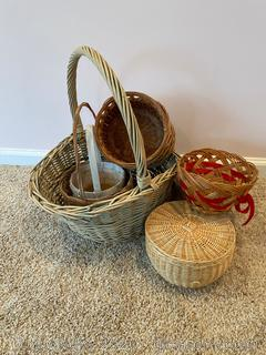 Lot of Baskets A