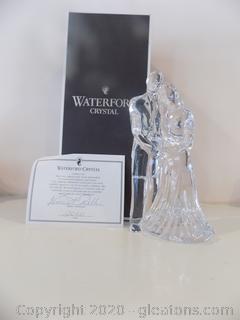 Waterford Crystal Groom and Bride