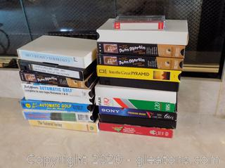 Lot of Vintage VHS Tapes
