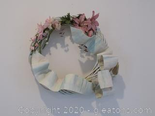 White Springtime/Easter Wreath