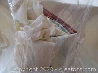 Custom Made Curtains and Pillow Case Lot