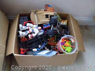 Lot of Toys A