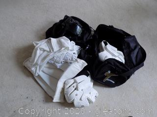 Lot of Children's Taekwondo Gear with Bags