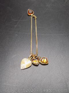 14k Italian Charm Bracelet