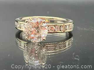 Appraised Large Diamond Engagement Ring