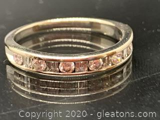 Appraised Diamond Wedding Band A