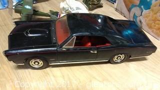 DIECAST BLACK GTO PONITAC