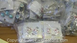 BOX OF COSTUME JEWERLY (1)