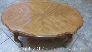 DREXEL COUNTRY FRENCH COFFEE TABLE