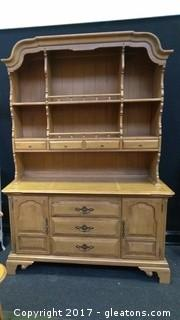 COUNTRY MANOR CHINA CABINET/HUTCH