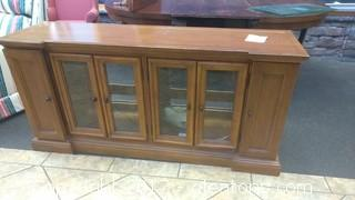 DREXEL CREDENZA WITH INLAY TOP