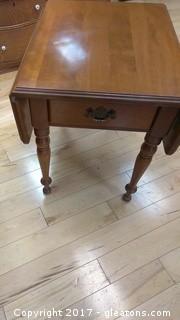 DROPLEAF SIDE TABLE