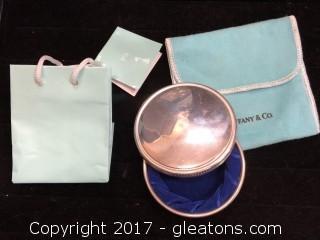 Tiffany & Co. Pewter Box