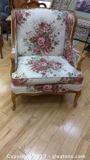 BEAUTIFUL FLORAL CHAIR