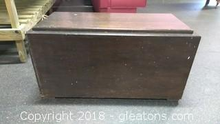 WOOD CABINET TRUNK
