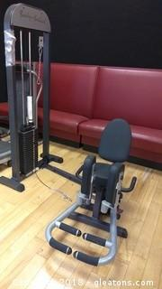 BODY SOLID WEIGHTS WITH CHAIR BENCH MACHINE