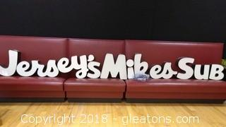 JERSEY,S MIKE SUB LIGHT LETTERS