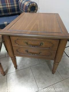 END TABLE(2)