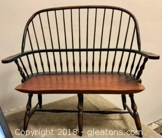 Small Wood Bench (for decor or dolls)