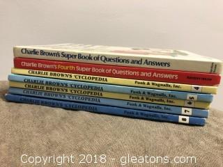 Vintage Charlie Brown Kid's Books