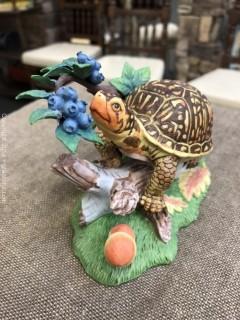 Lenox Fruitful Pursuit Box Turtle 1998