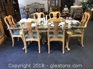 Link Taylor Lexington Furniture Dining Table and Chair