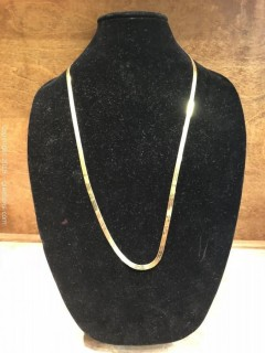 """30"""" Yellow Gold Necklace"""