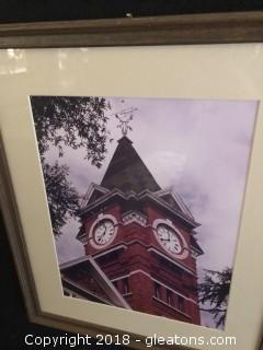 Samford Hall - Framed Photography
