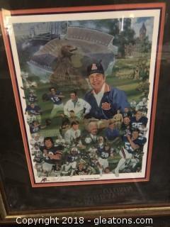 """""""The Auburn Spirit"""" Signed Greg Miller"""