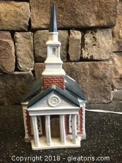 O'Well Novelty Historic Church Building Decor - Lights