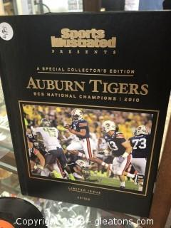 Sports Illustrated 2010 Auburn Tigers Special Collection Edition