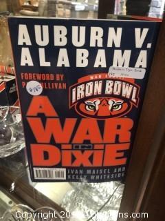 Auburn v. Alabama A War in Dixie by Ivan Maisel & Kelly Whiteside