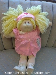 RARE SIGNED CABBAGE PATCH DOLL