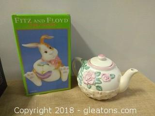 FITS AND FLOYD BUNNUY AND GANZ TEAPOT