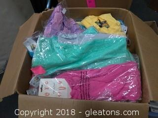 HUGE BOX OF ASSORTED SCARF (1)