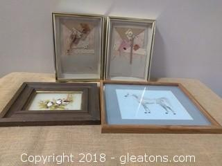 LOT OF FRAMED ART