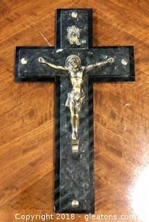Italian Marble Crucifix