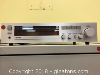 Yamaha Natural Sound Stereo Amplifier A-10