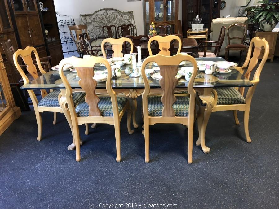 Link Taylor Lexington Furniture Dining Table And 6 Chairs