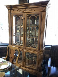 Link Taylor Lighted China Cabinet