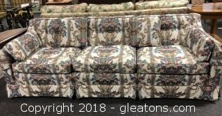Sofa, Custom Upholstered by Papa Hayes