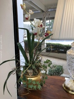 Floral Table Top Decor
