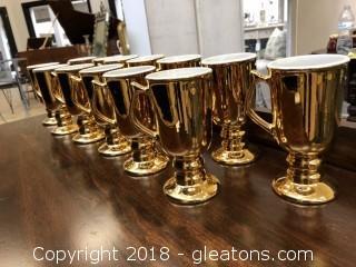 Hall Golden Glo 13 Coffee Mugs