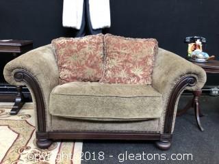 Bernhart Oversized Chair, Upholstered 56 x 40 x 30